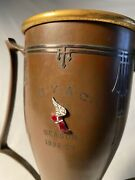 1928-29 New York Athletic Club Nyac Trophy Decorated Bronze Nyc