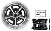1965-73 Ford Mustang Magnum Alloy Wheel 15x8 New Design 4.5 Bolt Pattern