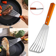Non-slip Stainless Steel Frying Spatula Leaky Shovel Fish Slice Cookware Sass