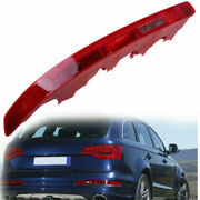 For Audi Q7 07-15 Driver Rear Bumper Reflector Tail Light Lamp Red Lens Assembly
