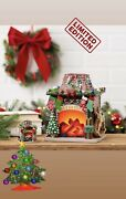 Holiday Hearth Limited Edition Of 3000 Scentsy Warmer With Ornament Nib Sold Out