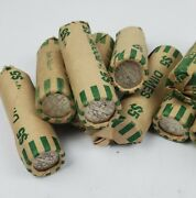 Roll Of 90 Roosevelt Dimes 5 Face Value 50 Coins