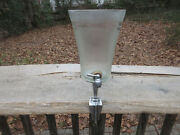 Antique Vintage Glass Soda Fountain Counter S Syrup Dispenser Clamp On 9 Cont