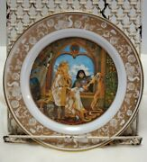 1978 The Grimm's Fairy Tales Rapunzel Limited Edition Collectors Plate
