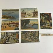 Vintage New Orleans Post Card Lot French Market, Port Pike, St Louis Cemetary +