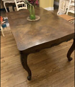 Antique Wood Dining Table ... Circa 1870