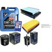 5 L Liqui Moly Engine-oil 5w-30 + Sct-filter Package Vw Golf Iv 1j1 1.6 Fsi Bora