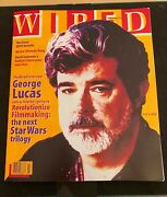 Wired Magazine - February 1997 - George Lucas - Vf+ 8.5