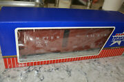 Usa Trains G Scale Sumpter Valley Outside Braced Box Car W/metal Wheels Upgrade