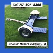 2021 Master Tow Dolly 80hd Electric Brakes Rv Trailer Call For Best Cash Price