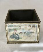 Antique Advertising Store Countertop Display Cabinet Hold-tight Cap-net