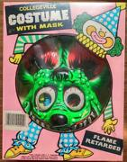 Rat Fink 90and039s Costume With Mask With Ed Roth Signature Ed Signed L04