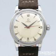 Omega Ref.2577-5 Vintage Cal.351 Ss Automatic Mens Watch Authentic Working