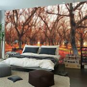 Covered Red Leaves Full Wall Mural Photo Wallpaper Printing 3d Decor Kid Home