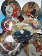 Collectable Lot Of 7 Little Orphan Annie Plates Numbered Limited Edition Pt2