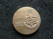 Judaica/israel 1973 Bronze Medal. Remembrance Day For I.d.f. Fallen. Not Sold