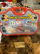 Mickey Mouse 1978 Walt Disney Medical Kit For Young Doctors And Nurses Sealed