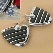 Wing Style Footrests Footpegs For Harley Davidson Models Honda Goldwing Cruiser