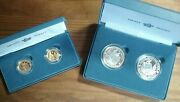 400th Anniversary Of The Mayflower Voyage Gold And Silver Two Coin 2020 Proof Set