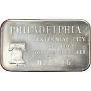 [6174] United States Of America Medaille 1 Troy Oz. .999 Fine Silver Bar