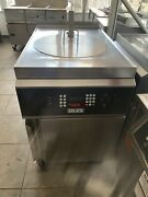 2015 Giles Electric Deep Fryer W/ Filter System And Auto Lift Gef-720- Late Model