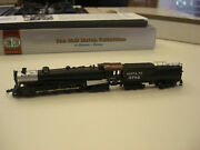 Con-cor N Scale Snta Fe S2 4-8-4 Northern Steam Locomotive And Coal Tender 3803
