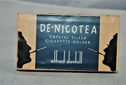 Dunhill Paten Dated 1930and039s Nos Cigarette Holder With De-nicotea Filters In Orig