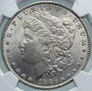 1886 United States Of America Silver Morgan Us Dollar Coin Eagle Ngc I87818