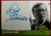 Night Of The Living Dead - Russ Streiner As Johnny - Autograph Card