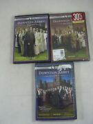 Downton Abbey Season 1 2 3 Lot Dvd Pbs 2 And 3 Sealed + Extras