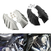 Mid-frame Air Deflectors And Trim Fit For Harley Touring Road King Glide 2009-2016