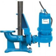 Goulds A10-40 Guide Rail System 4 Pump Discharge 4 Flanged Discharge