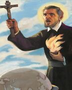 Catholic Print Picture- St Francis Xavier N - 8 X 10 Ready To Be Framed