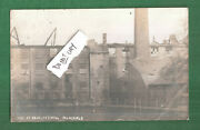 Rp Mansfield Fire Disaster At Bradley's Mill 1910 Sent To Mrs Hardy Newgate Lane