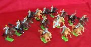 15 Lot 1971 Britains Ltd Deetail Toy Soldiers Us Civil War Confederate Army