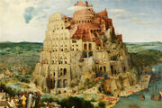 New 1000pcs Wooden Jigsaw Puzzle The Tower Of Babel Painting Assemble Toy Gift