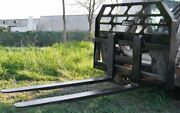 New Pallet Forks 48 And Frame For Skid Steers. Loflin Fabrications. Local P/u