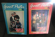 2 Unopened Vintage New Kids On The Block Giant 500 Piece Xl Poster Puzzles