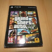 Grand Theft Auto V Gta 5 Playstation 3 Ps3 Game Special Edition Complete Pal