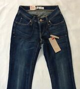 Women Jeans Size 0. Length 30. Curvy Bootcut. Stretch Ultra Low Rise. Auth