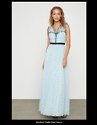Bcbg Max Azria Ruched Tulle Dress Size 0