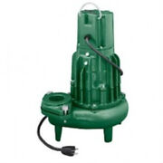 Zoeller 294-0021 High Head Sewage Pump With Mechanical Float Switch, Model Be294
