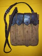 Rare 1950-53 Chinese And Nkpa Army Pps M1943 Chest Pouch Vet Captured