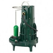 Zoeller 294-0055 High Head Sewage Pump With Variable Level Float Switch