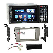 Concept Dvd Usb Mirror Bluetooth Stereo Dash Kit Harness For 07-11 Toyota Camry