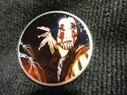 2021 Silver Eagle Colorized American Indian Art This Auction Is For 1 Coin
