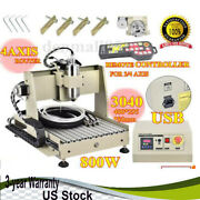 Usb 800w 4 Axis Cnc Router 3040 Engraving Drill Mill Machine Usa Shipping