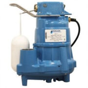 Goulds Gsp0511 Sump And Effluent Pump With Vertical Float Switch, 1/2 Hp, 115 V