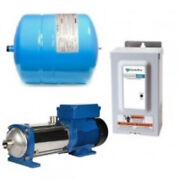 Goulds 2ab210hm02 Booster System With Outdoor Controller Tank And E-hm Pump