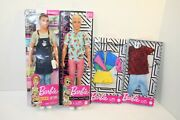 Barbie Ken Fashionistas Doll 152 2019, Barista2018 And 2 Outfits 2019
